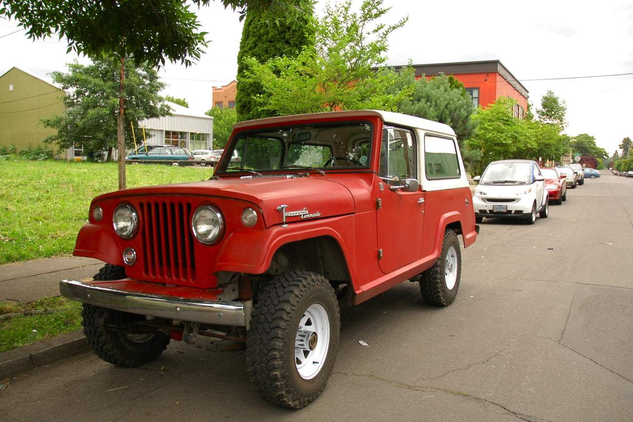 1968 Jeep Jeepster Commando 1 old parked cars 1968 jeep jeepster commando 12 Volt Switch Wiring Diagram at mifinder.co