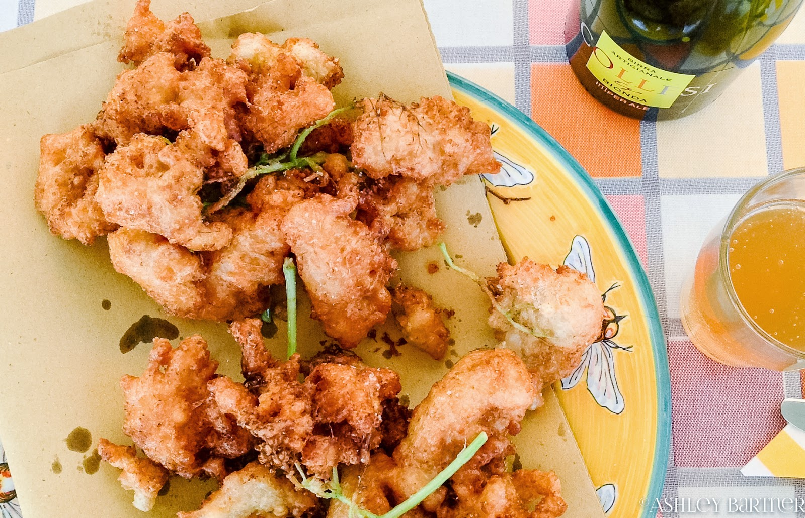 fried elderflowers & squash blossoms in beer batter: light, crispy ...