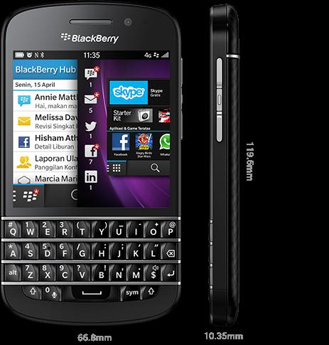 Spesifikasi dan Harga Terbaru BlackBerry Q10