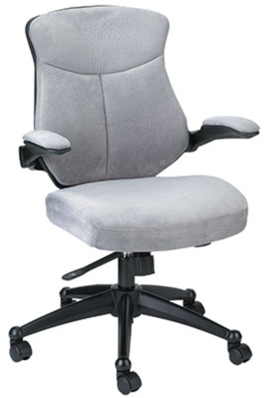 Wing Series Microsuede Office Chair by Eurotech