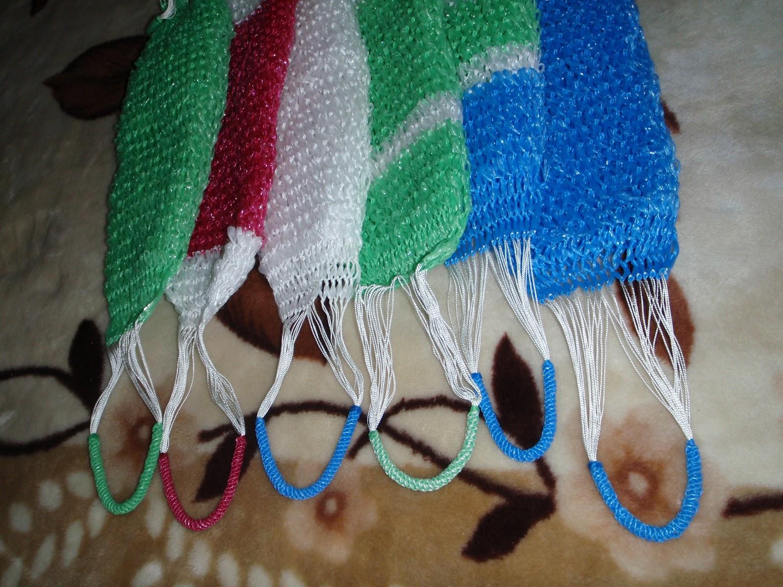 Плетение мочалок своими руками 23
