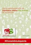 Programa electoral de Izquierda Unida - Los Verdes  –  Alcorcón 2015