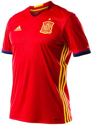 camiseta selección española Eurocopa 2016
