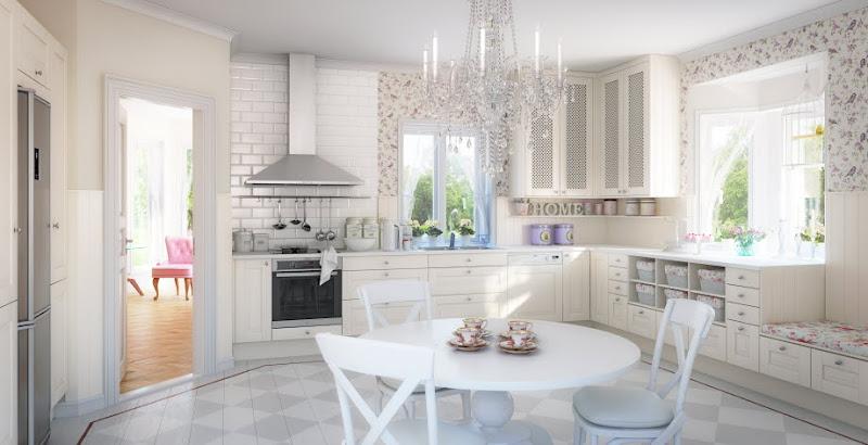 Vintage chic: Mer kjøkkeninspirasjon/ More kitchen inspiration