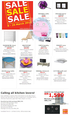 IKEA Sale 2012 March