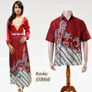 baju batik couple 2