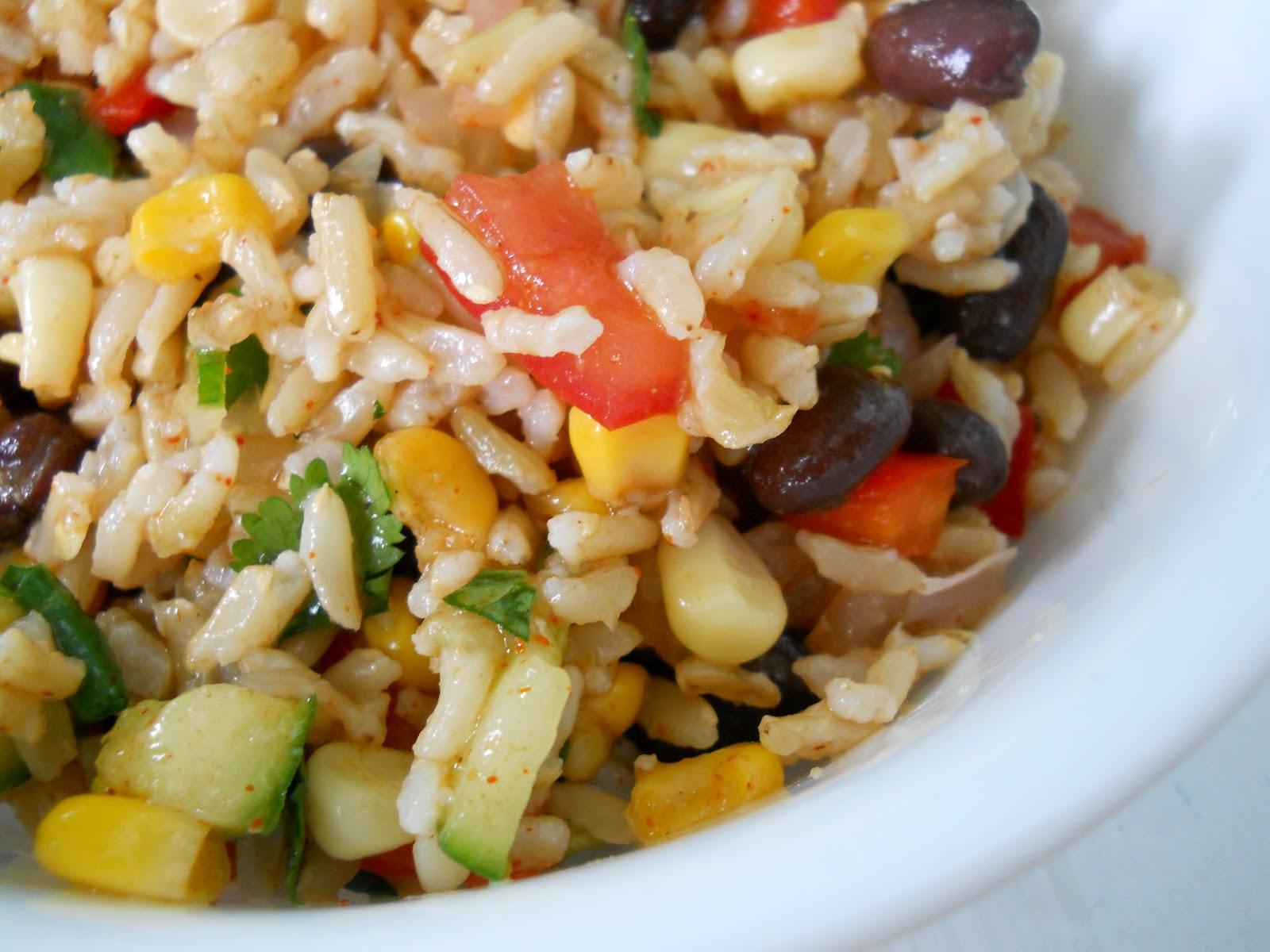 Confetti Rice Salad: