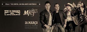 Zezé Di Camargo & Luciano e Milionário & José Rico em Uberlândia/MG