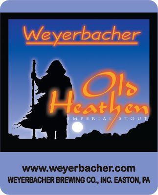 Old Weyerbacher Old Heathen Label