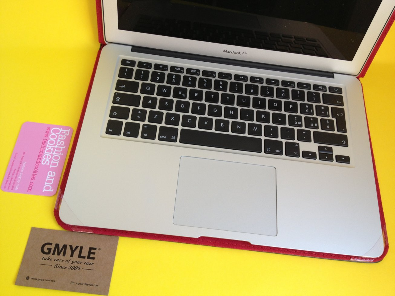 "Apple MacBook air 13"" leather case from GMYLE review on Fashion and Cookies fashion blog"