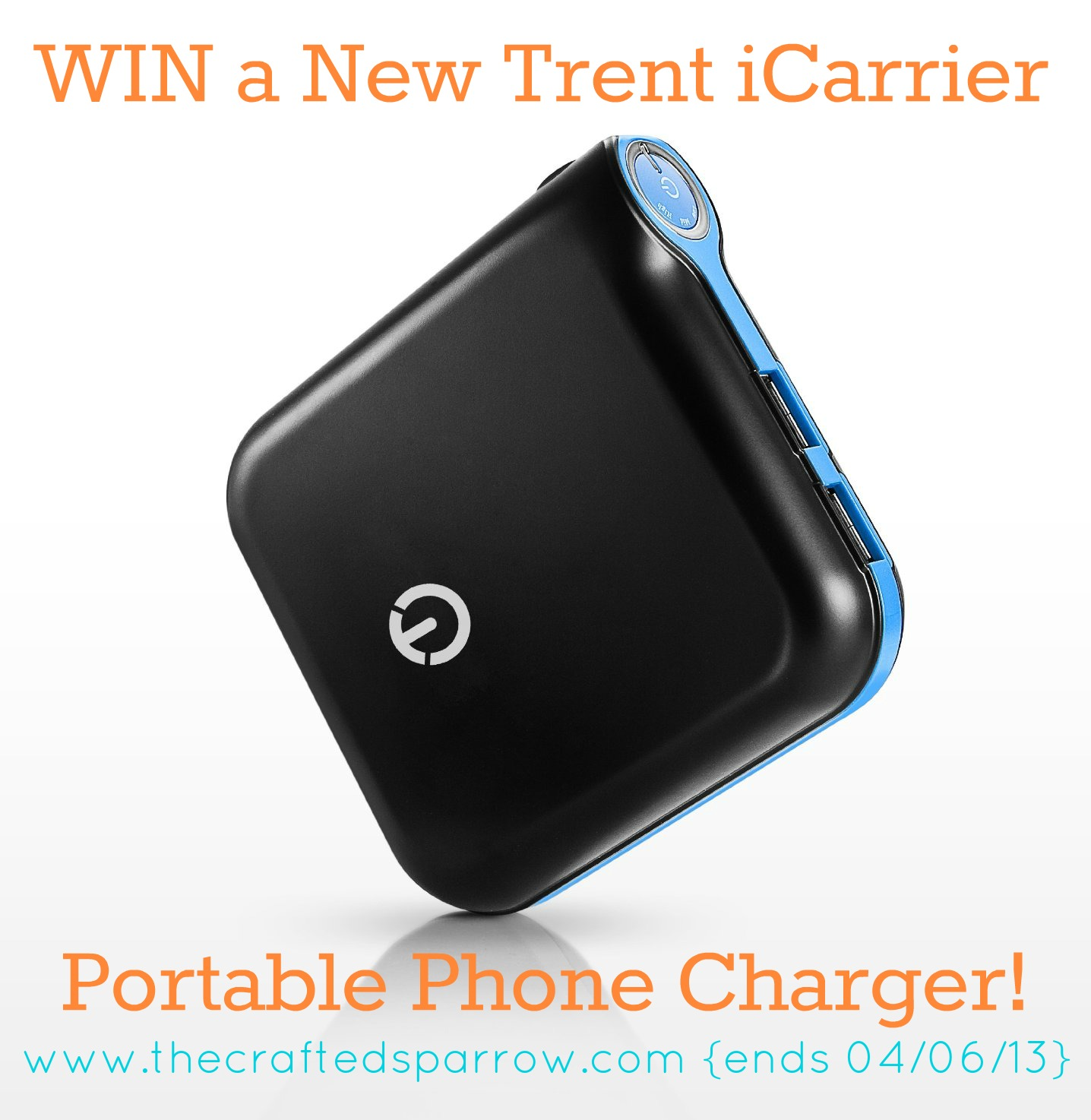 New Trent Icarrier External Battery Pack A Giveaway