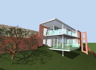 Maisons madagascar construire en pente for Implantation maison sur terrain en pente