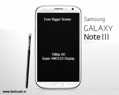 Samsung Galaxy Note 3 Specs Leaked, Hints At a 6.3 inch Display