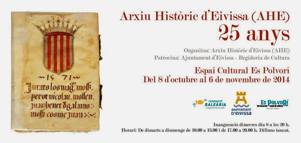 Arxiu Històric d'Eivissa, 25 anys