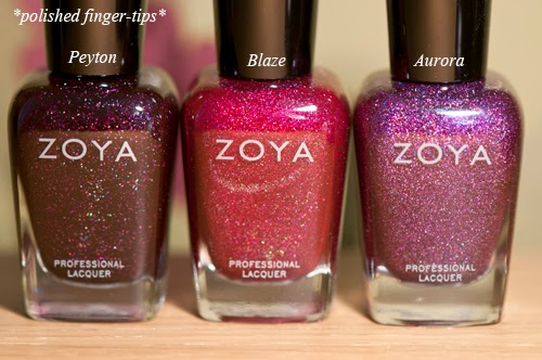 Zoya Peyton, Blaze and Aurora