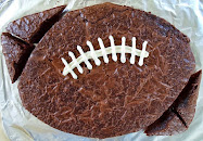 football brownie-9x13 size