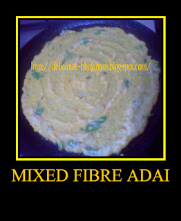 Mixed Fibre Adai