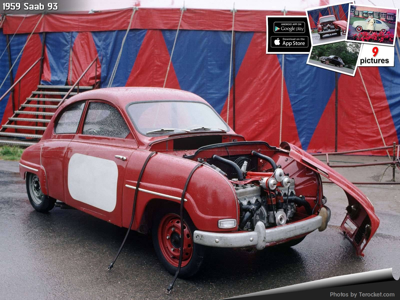 Hình ảnh xe ô tô Saab 93 1959 & nội ngoại thất