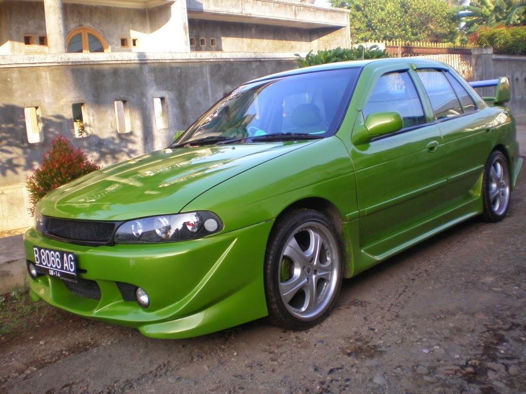Modifikasi mobil timor 1997 2000 2011 elegan balap keren Indonesia