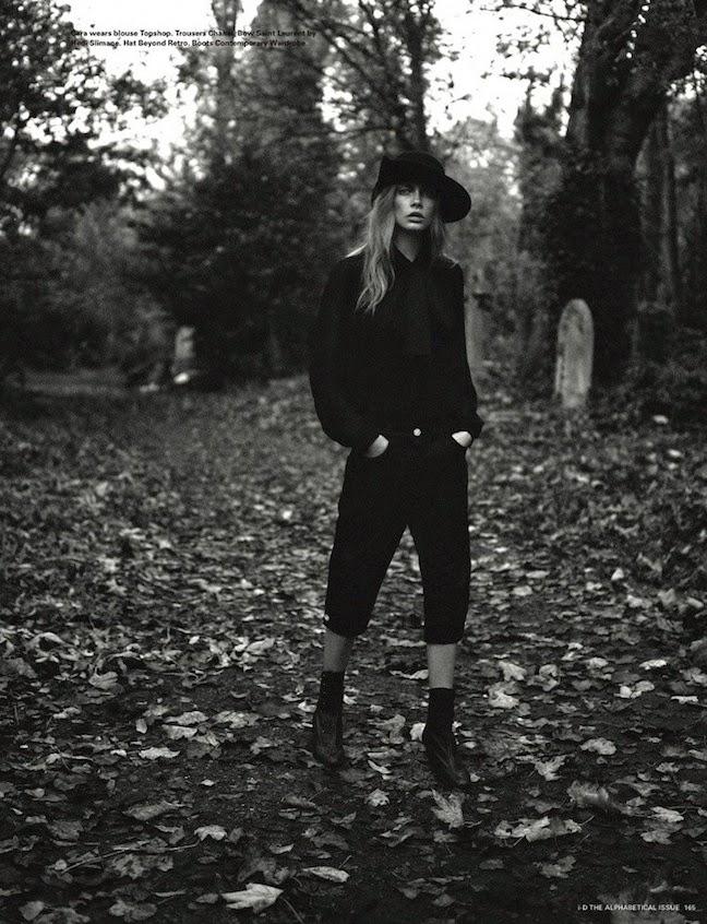 Cara Delevingne for I-d Pre-Spring 2013