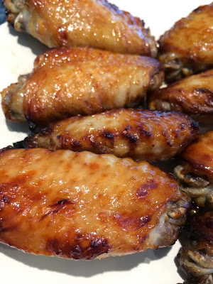 Grilled soy chicken wings-烤豆油鸡翅