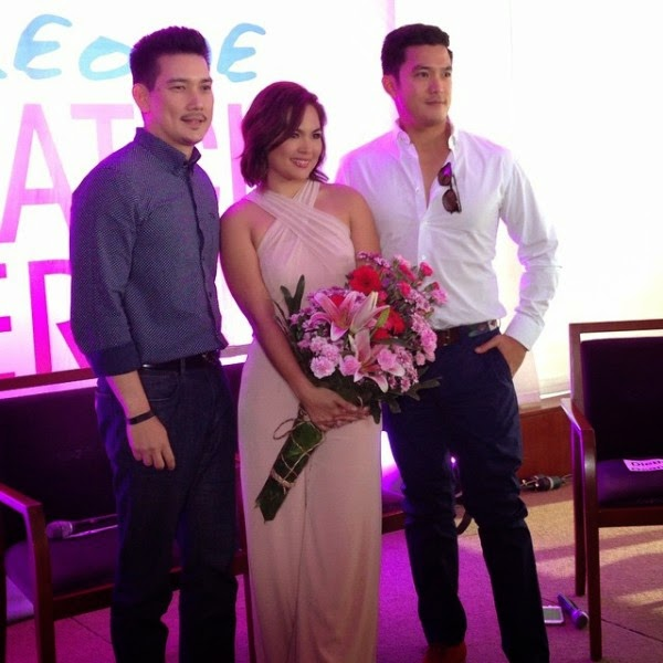 Photos: Richard Yap, Diether Ocampo, and Judy Ann Santos in Someone To Watch Over Me