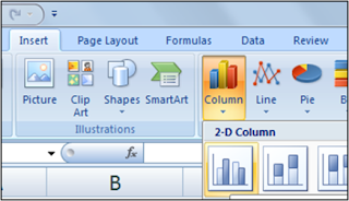 column grafik