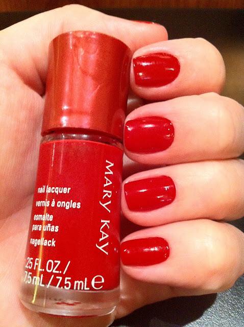 esmalte, unha, Mary Kay, Radiant Red