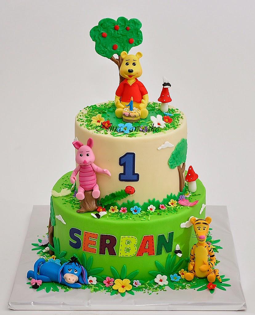 """""""Winnie & Friends"""" pentru Serban"""