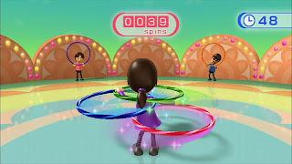 wii hula hoop