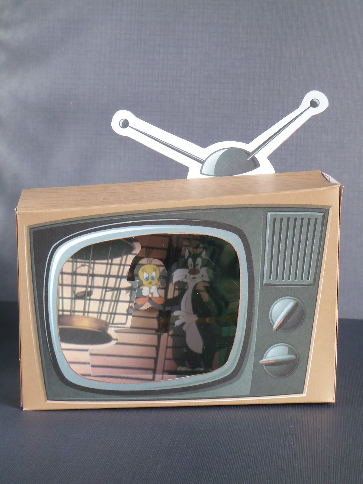 The arty parrot tv birthday card tv birthday card bookmarktalkfo Images