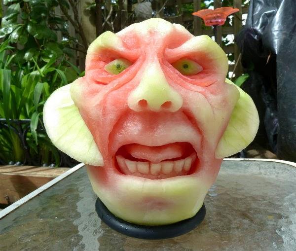 Creative watermelon faces spicytec