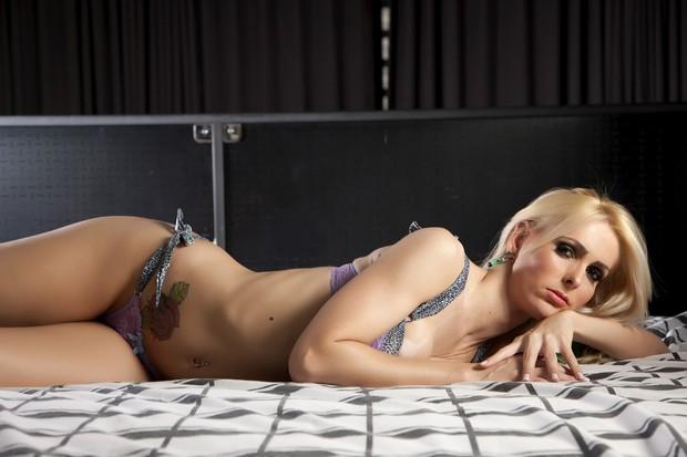 Amanda Sampaio, candidata transexual do concurso Miss Bumbum (Foto: CO Assessoria/Divulgação)