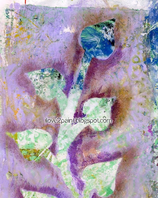 Gelli rints by Ayala Art