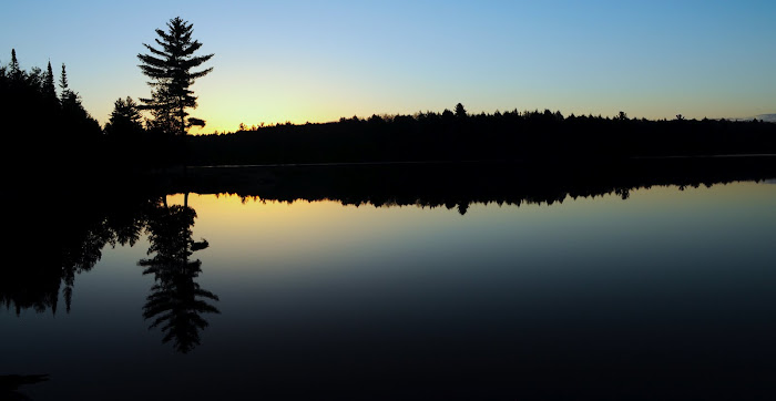 Tranquility on Smoke Lake at Sunrise, Algonquin Park