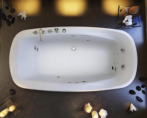 Luxury Eterne Drop In Bathtub Design By Pearl Bath New Product
