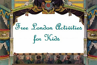 Free London Activities for Kids, A Mum in London