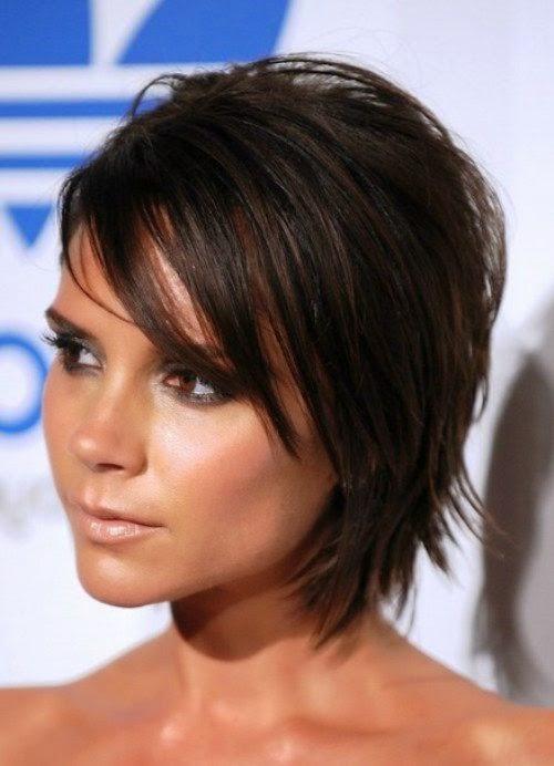 Victoria Beckham Hairstyles 2014