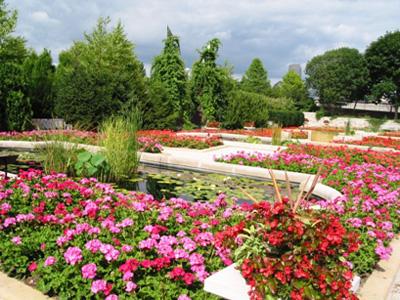 O Jardim: Grandes jardins