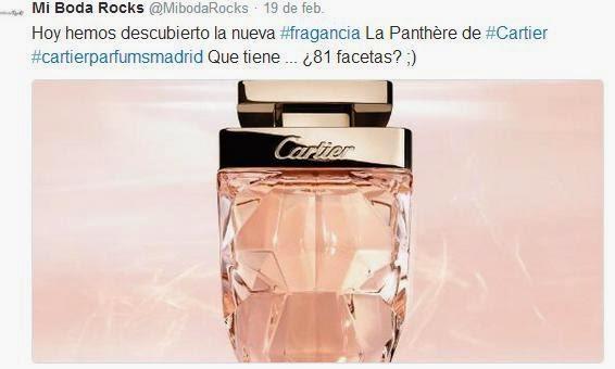 Eau de Parfum La Panthère Légère de Cartier - Blog Mi Boda gratis