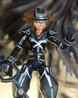 Square Enix Play Arts 2013 Toy Fair Display - Kingdom Hearts Sora Tron figure