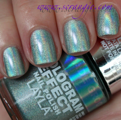 Scrangie: Layla Hologram Effect Nail Polish Swatches and ...