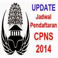 Gambar atau Logo terkait Perubahan Jadwal Pendaftaran CPNS 2014