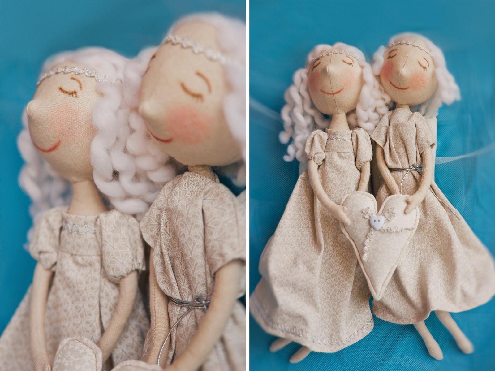 Как сшить куклу ангела