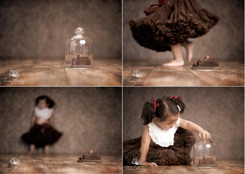 barnebilder av liten jente av fotograf Trine Bjervig i Tønsberg