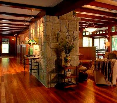 Desain Rumah Minimalis Bergaya Rustic Modern