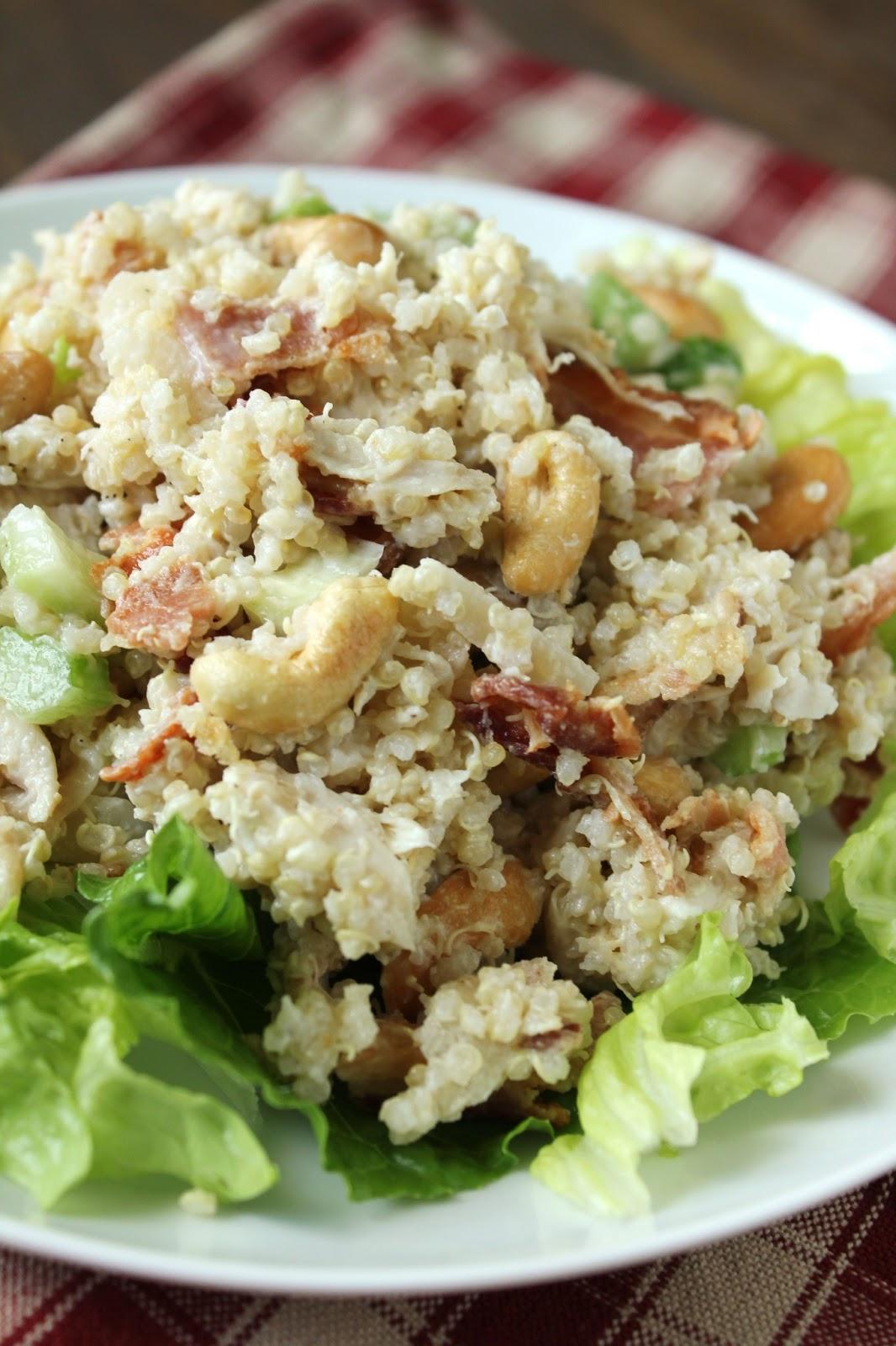 Quinoa Chicken Salad {Gluten-Free, Low-FODMAP Option} / Delicious as ...
