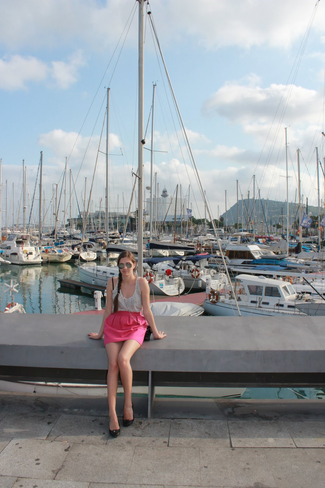Russa ragazza holidays in barcelona vacanza a barcellona for Barcellona vacanza