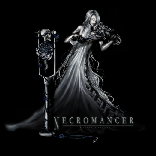 Necromancer por Rociel-Redgraves