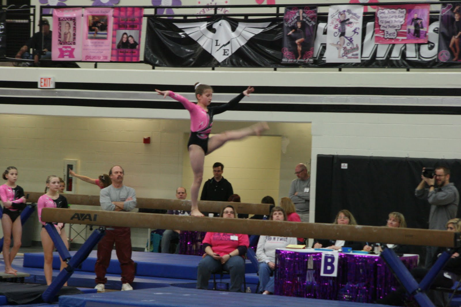 the cup cincinnati gymnastics meet 2011